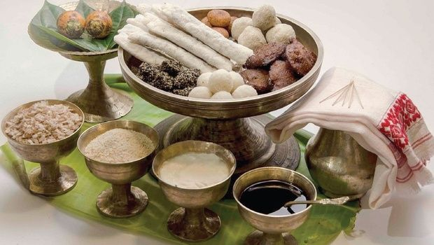 Laru Pitha and other food items